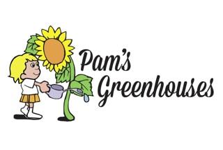 Pam's Greenhouses logo