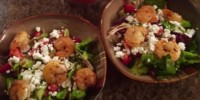 berry shrimp salad
