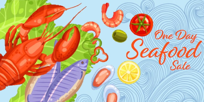 One Day Seafood Sale | Viking Village Foods