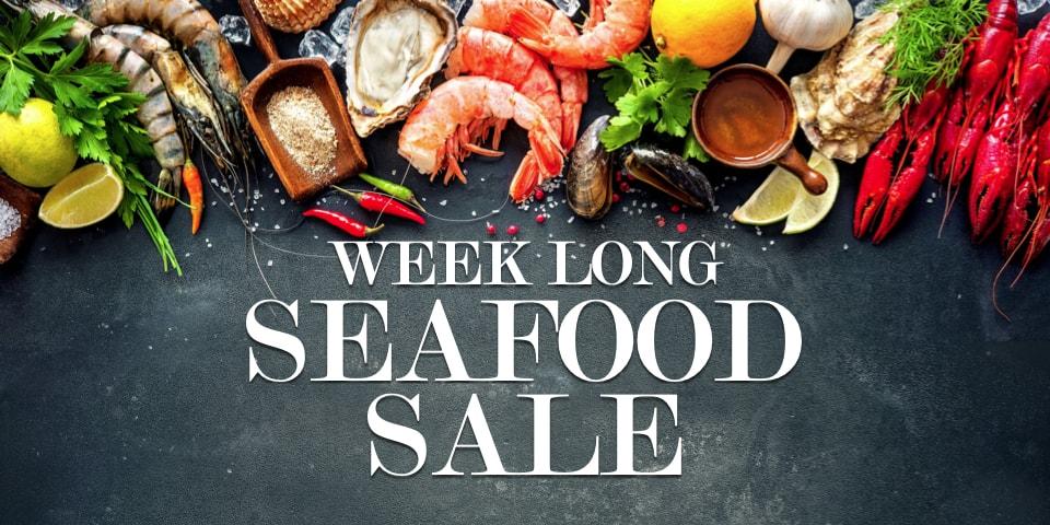 Week Long Seafood Sale at Viking Village