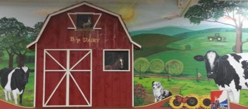 BP Farm Mural