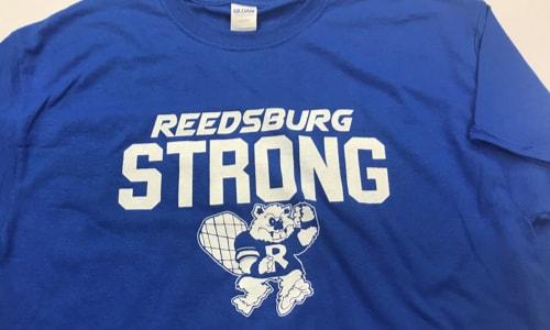 reedsburg strong t shirt