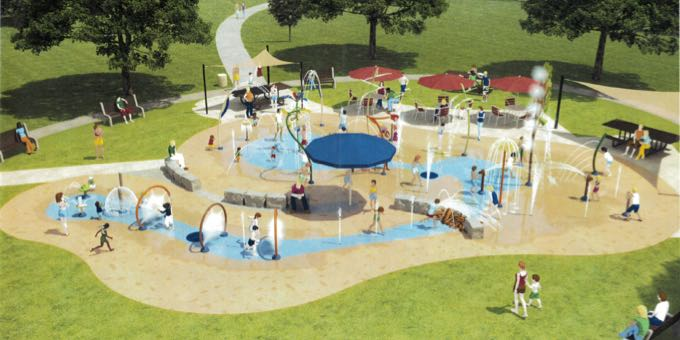 Splash Park Mock Up