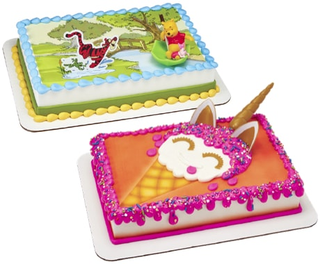 decorated bakery cakes