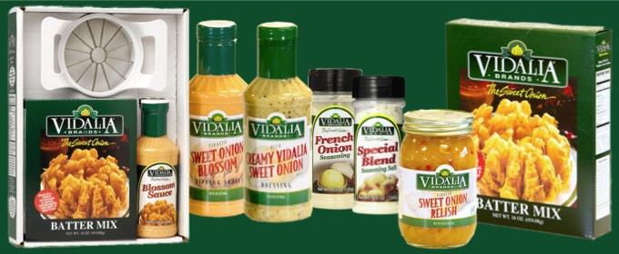 Vidalia Onion Products